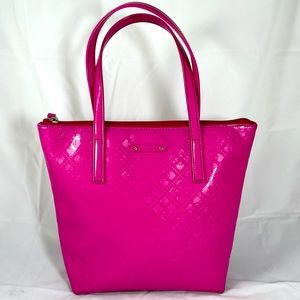 Kate Spade Jeralyn Emerald Avenue Pink Tote